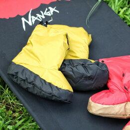 ナンガ(NANGA)/フットウォーマー・レッグウォーマー/テントシューズ/ソックス/靴下/キャンプ/アウトドア