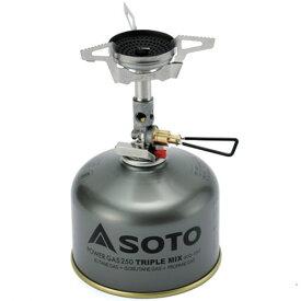 ソト(SOTO) ガスカートリッジストーブ マイクロレギュレーターストーブ ウインドマスター SOD-310 sod-310 バーナー ストーブ ヒーター シングルバーナーストーブ キャンプ アウトドア