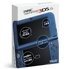 未使用品 Nintendo Newニンテンドー3DS LL メタリックブルー