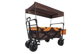 「Carryman」 キャリーワゴン 屋根付き 100KG 大容量 UV対策  ベルト付き 特大 タイヤ キャンプ  野球、BBQ、海キャンプ バーベキュー カーゴ キャリーワゴン カート