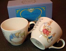 PETER RABBIT(ピーターラビット)ペアマグカップ、クリスマス、誕生日ギフト、送料無料(沖縄と離島を除く)父の日、母の日、敬老の日ギフト【RCP】
