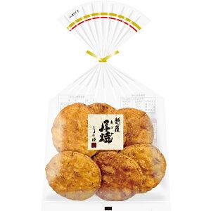 しょうゆせんべい 越後厚焼しょうゆ 6枚入×12袋 越後製菓 国産米100%使用 本州送料無料