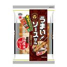 煎餅うまい!ソースせん60g×12袋(1箱)越後製菓国産米100%本州・四国送料無料