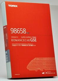 Nゲージ鉄道模型 TOMIX製小田急ロマンスカー70000形GSE7両(第1編成セット)【TRAINS購入特典付き】