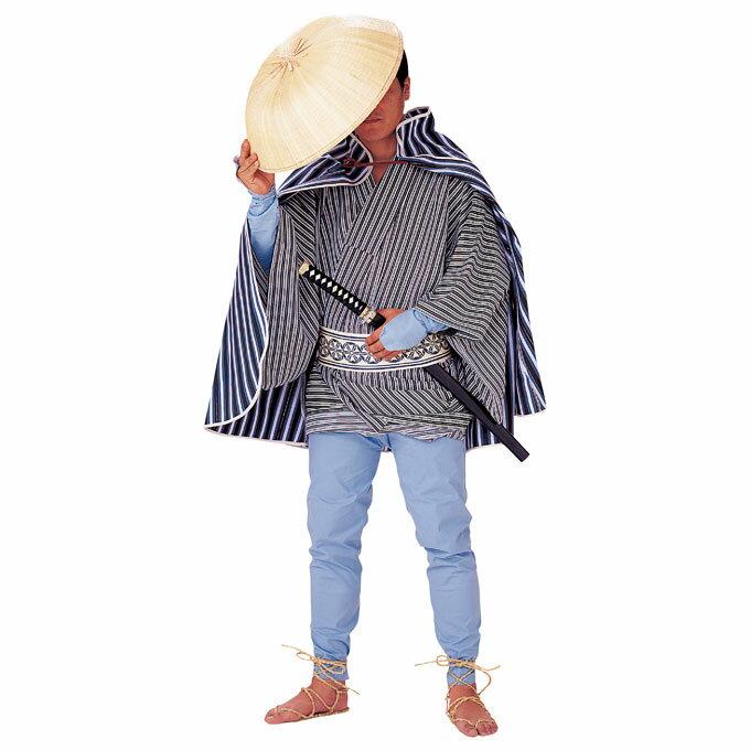 【股旅衣装】またたび【アサギ股引】またひき※こちらは股引きのみの販売です。