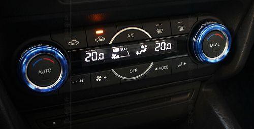 MAZDA マツダ アクセラ用 エアコン マツコネ ダイアルカバー ブルー 代引き 宅急便発送の場合 別途送料が必要です。