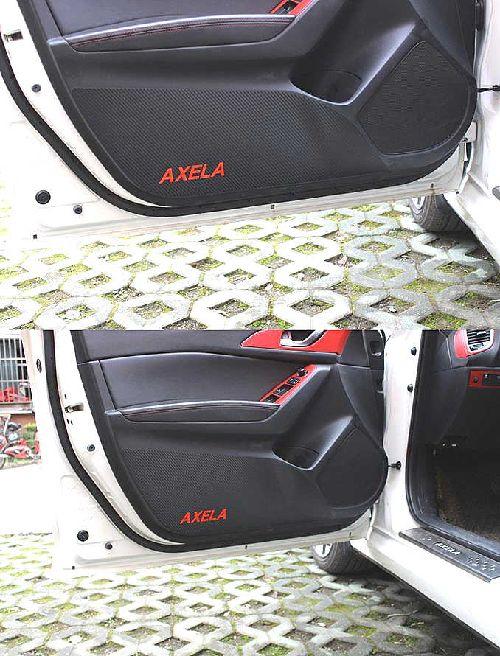 MAZDA アクセラ BM/BY対応 ドア トリム ガード フイルム ブラック