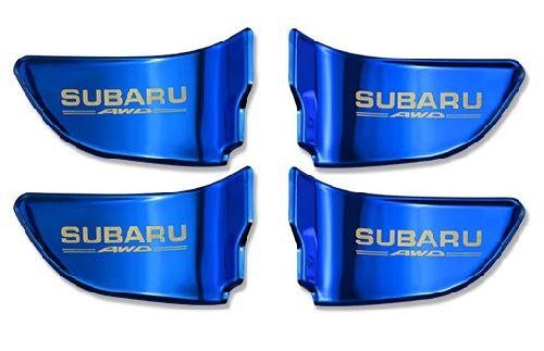 SUBARU スバル インナードアカバー フォレスター レヴォーグ XV ブルー 代引き 宅急便発送の場合 別途送料が必要です。