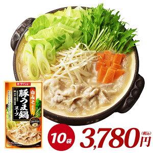 白みそ仕立て 豚うま鍋スープ(750g×10袋) ダイショー 調味料 鍋 スープ
