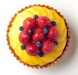 バースデーケーキ 誕生日ケーキ フルーツケーキ 記念日ケーキ とろけるマンゴーといちごのタルト16cm(5号) お誕生日ケーキ、バースデーケーキ用に! 大切な記念日にも! 【バースデイケーキ】