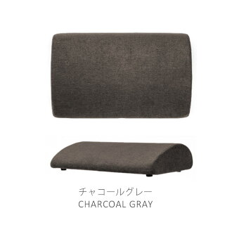 [BORDERLESS] choose footrest FOOT CUSHION (foot cushion) color & 張地素材 among three kinds: Charcoal gray / cappuccino brown /PU leather black (toeboard desk work foot pillow office home combined use)