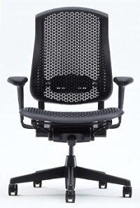 [HermanMiller]セラチェア(CelleChairs)【セルラーバック・シート】【グラファイトカラーベース】【アームパッド/背・座面:ブラック】【送料無料】ハーマンミラー・アーロンチェアの後継機【smtb-F】【YDKG】