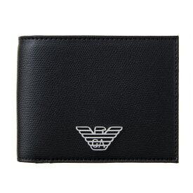エンポリオアルマーニ 財布 二つ折り財布 メンズ EMPORIO ARMANI Y4R165 YLA0E 81072
