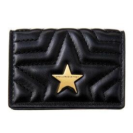ステラマッカートニー Stella McCartney 三つ折り財布 529318 W8214 1000 誕生日 ブランド プレゼントにも 高級 20代 30代 40代 50代 60代