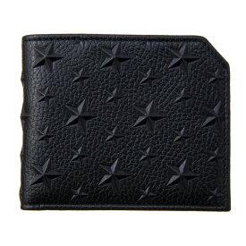 【キャッシュレスで5%還元】ジミーチュウ 財布 ユニセックス ブラック JIMMY CHOO ALBANY EMG BLACK