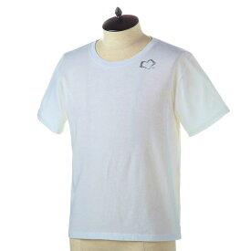 サンローラン パリ Tシャツ メンズ SAINT LAURENT 557491 YBAQ2 9744 NATUREL-NOIR 誕生日 ブランド かっこいい プレゼントにも 高級 20代 30代 40代 50代 60代