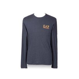 エンポリオアルマーニ EA7 Tシャツ メンズ ブルー 長袖 ロンティー 6ZPT28 PJA2Z 1994 EMPORIO ARMANI 誕生日 ブランド かっこいい プレゼントにも 高級 20代 30代 40代 50代 60代 ポイント消化 【rss】