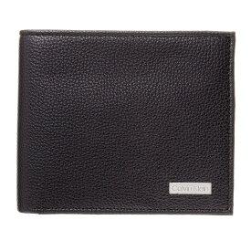 カルバンクライン CALVIN KLEIN 財布 メンズ 79215 BLACK 二つ折り財布 ブラック 誕生日 ブランド かっこいい プレゼントにも 高級 20代 30代 40代 50代 60代 ポイント消化