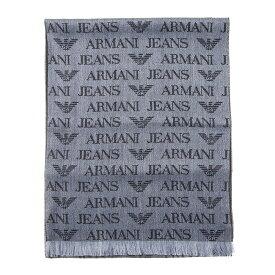 【タイムセール】 アルマーニジーンズ ARMANI JEANS マフラー 934504 CD786 00041 グレー メンズ レディース 誕生日 ブランド かっこいい プレゼントにも 高級 20代 30代 40代 50代 60代 ポイント消化