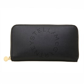 ステラマッカートニー ラウンドファスナー長財布 財布 ブラック レディース Stella McCartney 502893 W8542 1000 誕生日 ブランド プレゼントにも 高級 20代 30代 40代 50代 60代