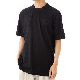 ワイスリー メンズ Tシャツ Y-3 FN3358 ブラック 半袖 部屋着 ヨウジヤマモト ブランド 誕生日 プレゼント