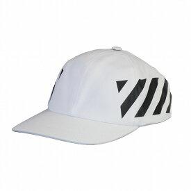 【タイムセール】オフホワイト メンズ キャップ OMLB008R204000180110 ホワイト OFF-WHITE 帽子 サイドスラッシュ 大人気 ベースボールキャップ アウトドア 誕生日 プレゼント 新品 20代 30代 40代 50代 60代 送料無料