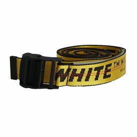 【タイムセール】オフホワイト メンズ ベルト OMRB012R206470016000 イエロー OFF-WHITE メンズベルト ガチャベルト ファッション 誕生日 プレゼント 新品 20代 30代 40代 50代 60代 送料無料