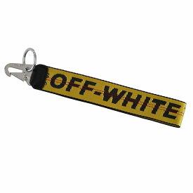 オフホワイト メンズ キーホルダー OMZG019R206470016000 イエロー OFF-WHITE アクセサリー 家 車要鍵 飾り 誕生日 プレゼント 新品 20代 30代 40代 50代 60代 送料無料