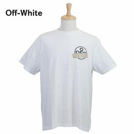 【タイムセール】オフホワイト メンズ Tシャツ OMAA038R201850020148 ホワイト 白 OFF-WHITE ブランド 誕生日 プレゼント 新品 20代 30代 40代 送料無料