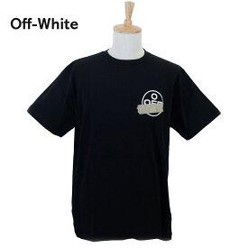 【タイムセール】オフホワイト メンズ Tシャツ OMAA038R201850021048 ブラック 黒 OFF-WHITE ブランド 誕生日 プレゼント 新品 20代 30代 40代 送料無料