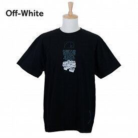 【タイムセール】オフホワイト メンズ Tシャツ OMAA038R201850051001 ブラック 黒 OFF-WHITE ブランド 誕生日 プレゼント 新品 20代 30代 40代 送料無料