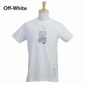 【タイムセール】オフホワイト メンズ Tシャツ OMAA027R201850050110 ホワイト 白 OFF-WHITE ブランド 誕生日 プレゼント 新品 20代 30代 40代 送料無料
