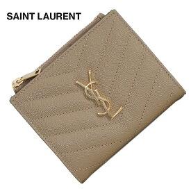 サンローラン パリ SAINT LAURENT 575879 BOW01 2643 ベージュ(ゴールド金具) プレゼント 送料無料 [CP2000]