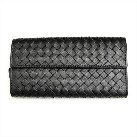 ボッテガヴェネタ 財布 長財布 ブラック BOTTEGA VENETA 150509 V001N 1000 誕生日 ブランド プレゼントにも 高級 20代 30代 40代 50代 60代