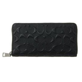 コーチ 財布 公式 アウトレット 長財布 メンズ ブラック COACH F58113 BLK 誕生日 ブランド かっこいい プレゼントにも 高級 20代 30代 40代 50代 60代