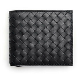 【キャッシュレスで5%還元】ボッテガヴェネタ 財布 メンズ ブラック BOTTEGA VENETA 193642 V4651 1000