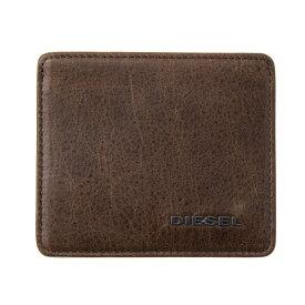 ディーゼル カードケース メンズ ブラウン/ミントグリーン DIESEL X04383 P1075 H6183