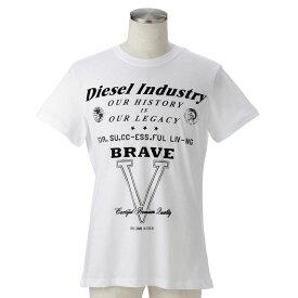 ディーゼル tシャツ メンズ DIESEL 00SQRS 0091B 100 誕生日 ブランド かっこいい プレゼントにも 高級 20代 30代 40代 50代 60代 ポイント消化