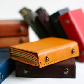 ミッレフォッリエ2 P 25mm エムピウ二つ折り 革 財布/送料無料 張る財布