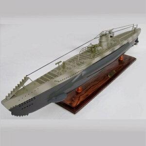 ドイツ潜水艦Uボート(完成品)全長100cm大型模型 【代金引換不可】 /送料無料
