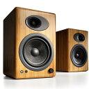 価格帯を超えた圧倒的な高音質を実現【Audioengine A5+ パワードスピーカー(ペア) ソリッドバンブー】コストパフォ…