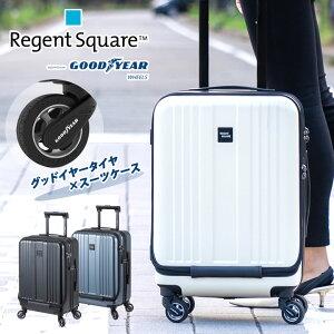 リージェントスクエア Regent Square グッドイヤー GOOD YEAR 世界初 ビジネスキャリー キャリーケース スーツケース グッドイヤーホイール TSAロック フロントポケット フロントオープン 機内持ち