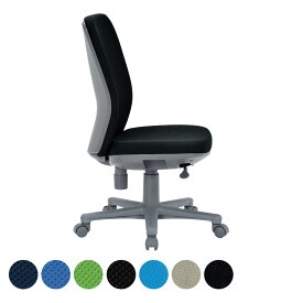 オフィスチェア/肘無・ミドルバックタイプ/OA-1205 事務椅子 オフィスチェアー 学習椅子 勉強椅子 パソコンチェアー デスクチェアー