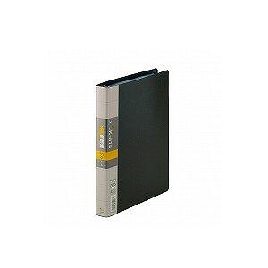 名刺ホルダー 名刺整理帳 A4 見開き18枚ヨコ入れ 背幅30 収容数252-504枚 タテ型 30穴 1冊 コレクト EC-K-615 名刺ホルダー 名刺ファイル 名刺インデックス