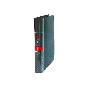 名刺ホルダー 名刺整理帳 A4 見開き18枚ヨコ入れ 背幅38 収容数405-810枚 タテ型 30穴 1冊 コレクト EC-K-618 名刺ホルダー 名刺ファイル 名刺インデックス