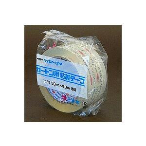 ガムテープ OPP カートン用粘着テープ No.60 透明 軽〜重量物の封かん用 幅50mm×長さ50m 1巻 共和 EC-HS-D0500EA