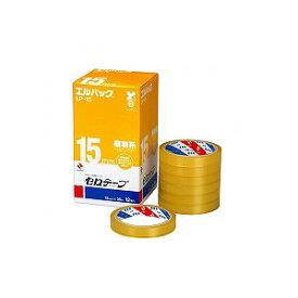 エルパック セロテープ 大巻徳用 幅15mm 12巻 まとめ買い ニチバン EC-LP-15-12P