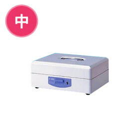 スチール印箱 中 科目印約80本収納 鍵2個付き 重ね置き可能 仕切板付き 1個 カール スタンプ 印鑑 保管 ボックス はんこ EC-SB-7003