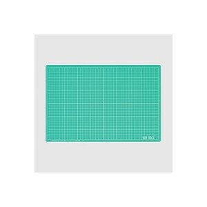 スケルトンカッティングマット カッターマット Sサイズ 300×450 10mm方眼入り エコール EC-EKM-S