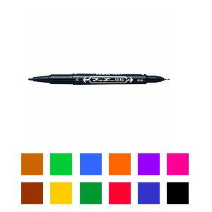 油性マーカー マジック マッキー 極細字 1.0〜1.3mm/0.5mm 1本 ゼブラ EC-MO-120-MC ZEBRA